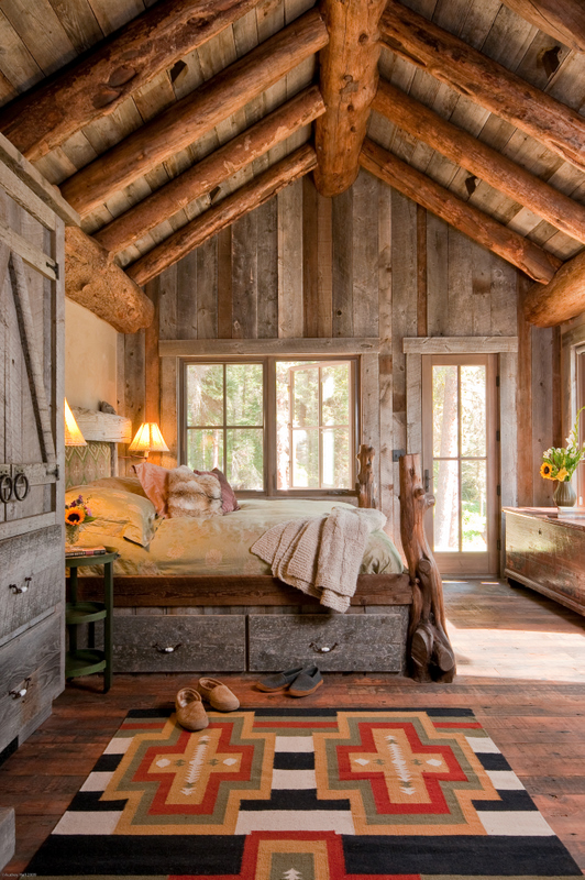 Фото комнат в деревянных домах
