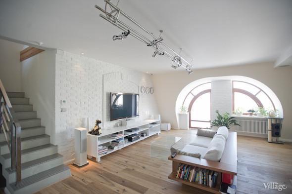 Двухъярусные квартиры фото